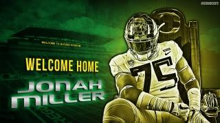 QUACKKKK - Oregon lands OL Jonah Miller