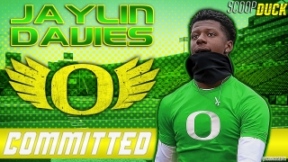 QUUUUAAAACCCCKKKK -  Jaylin Davies Commits to Oregon