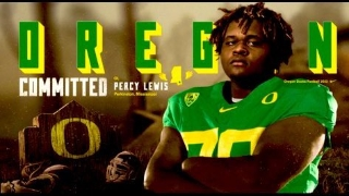 Lewis 'Locked In' with Oregon