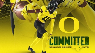 Nicholas Anderson Breaks Down his Oregon Commitment